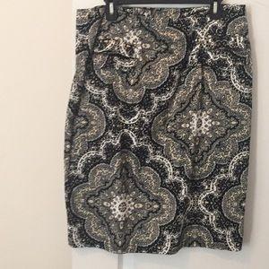 Multi Colored Skirt
